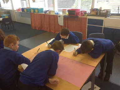 Year 6 developing ideas for balanced arguments.
