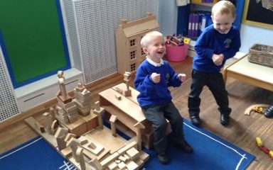 Reception – important class news and 'hip hop' counting!