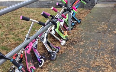 Scooters and Tiaras take over West Lane!!