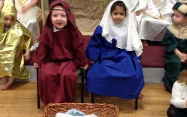 Reception 'Superstar' Nativity performances!