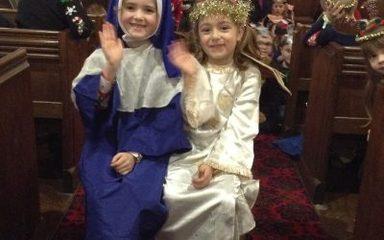 Winlaton West lane Xmas Nativity at St Pauls Church – Merry Xmas to all!