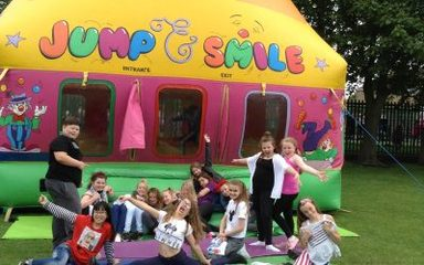 Winlaton West Lane 'bounce' their way to post-OfSTED fun!