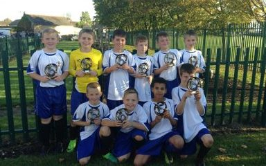 Winlaton West Lane Football team are through to the County semi-finals!