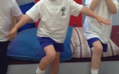 Little Kickers Reception!