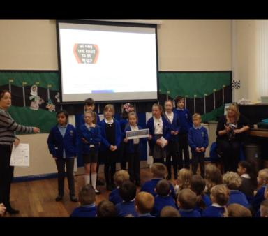 School Parliament 'take over' assemblies!