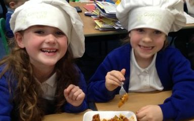 Year 2 have a 'healthy' visit from Chef Nick!