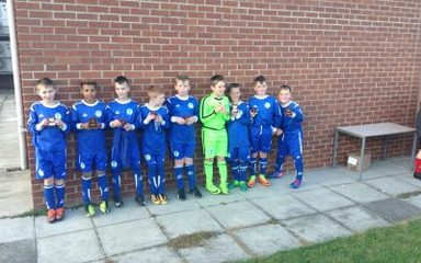 Winlaton West Lane footballers Score a Super Second Spot at Sunderland County Finals!
