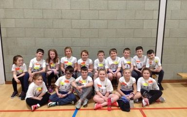 Year 5 and 6 compete their way to athletics success!