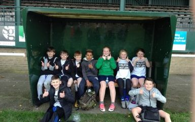 West Lane Rugby team scores a fabulous 5th place!
