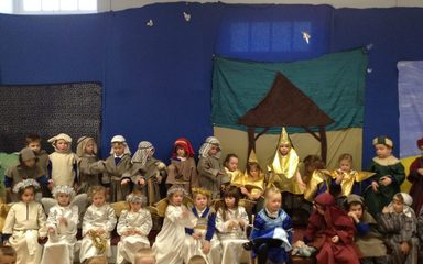 Reception Performs a fabulous Nativity!
