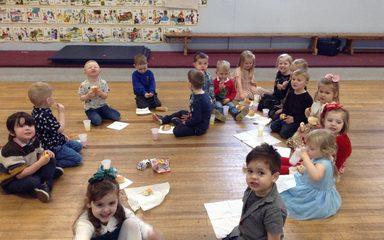 Nursery enjoy some Xmas Party Fun!