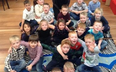 End of term and Xmas fun in Year 1 Holly!
