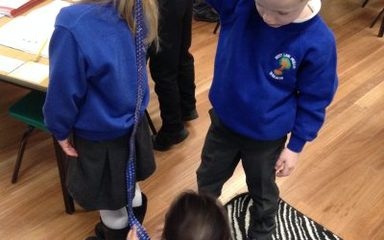 Year 1 Holly explore measuring…