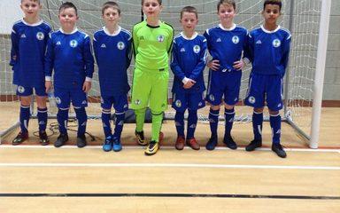 Blaydon & District Football players 'score' second place!