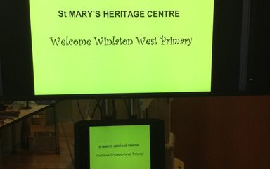 Year 2 visit St Mary's Heritage Centre and The Quayside to learn about The Great Fire!