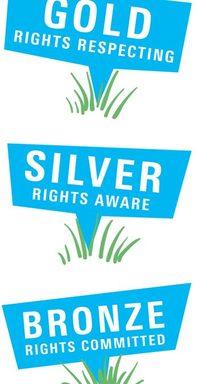 West Lane Celebrate RRSA Silver 'Right's Aware' Success!