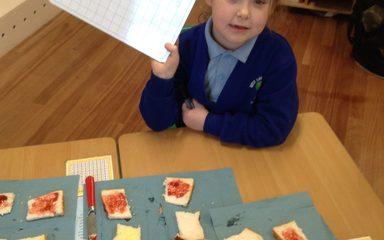 Year 1 enjoy some 'jammy' maths!