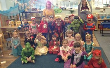 Reception enjoy some wonderful World Book Day fun!