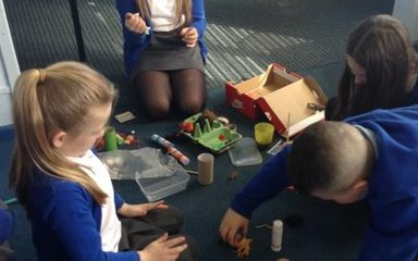 Year 2 and 6 become EGG-cellent Easter Egg designers!
