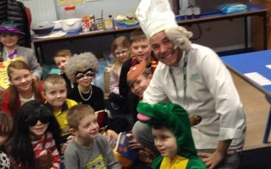 Year 3 'expo' with chef Nick!