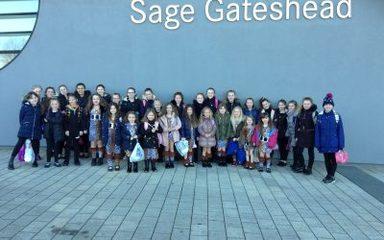 West Lane Rock the Gateshead Schools' Dance Festival!