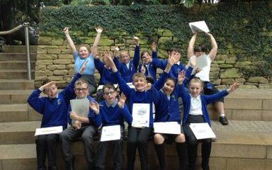 Year 5 'explorers' explore Sunderland Winter Gardens!