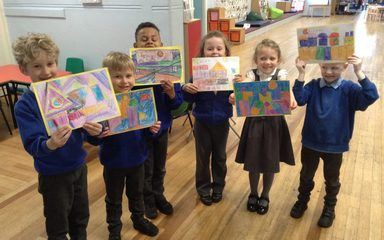 Year 1 paint with Paul Klee!