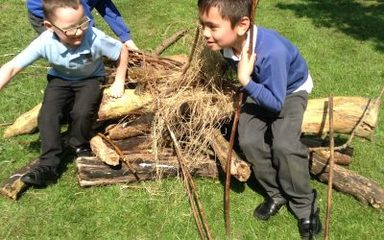 Year 1 build some 'sturdy' homes!