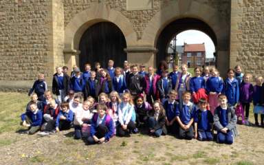 Year 4 visit Arbeia in search of a 'Really Roman' fort!