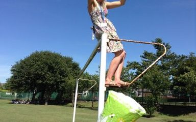 Year 5 test out some 'egg-cellent' air resistance!