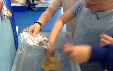 Year 1 Holly investigate materials…