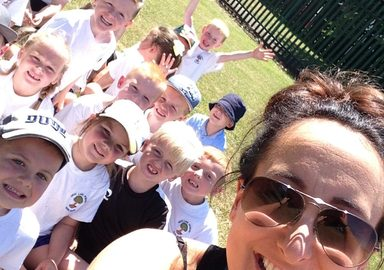 Year 1 are 'gearing up' for sports day!