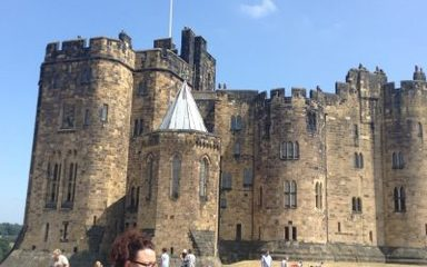 Magical Tales and battles at Alnwick Castle!