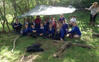 Year 6 build golden time dens!
