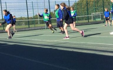 Year 5/6 Netballers impress at Kingsmeadow!