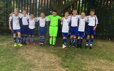West Lane footballers blow the socks off Blaydon & District Football Tournament!