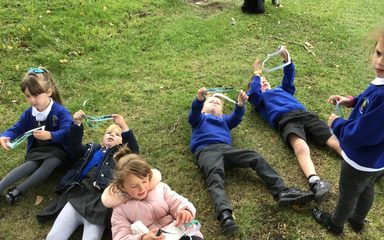 Year 1 develop a 'bird's eye view!'