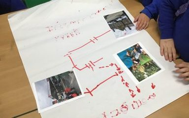 Year 1 'map' their way around local landmarks…