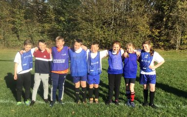 West Lane Tag Rubgy Team 'scout out' success!