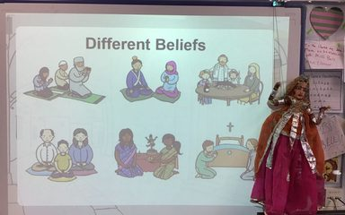 Year 4 'choose' to explore different religions…RESPECT!
