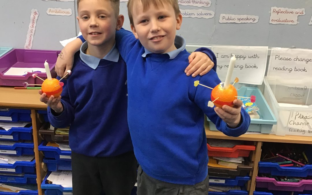 Creative Christingles in Year Four Aspen.