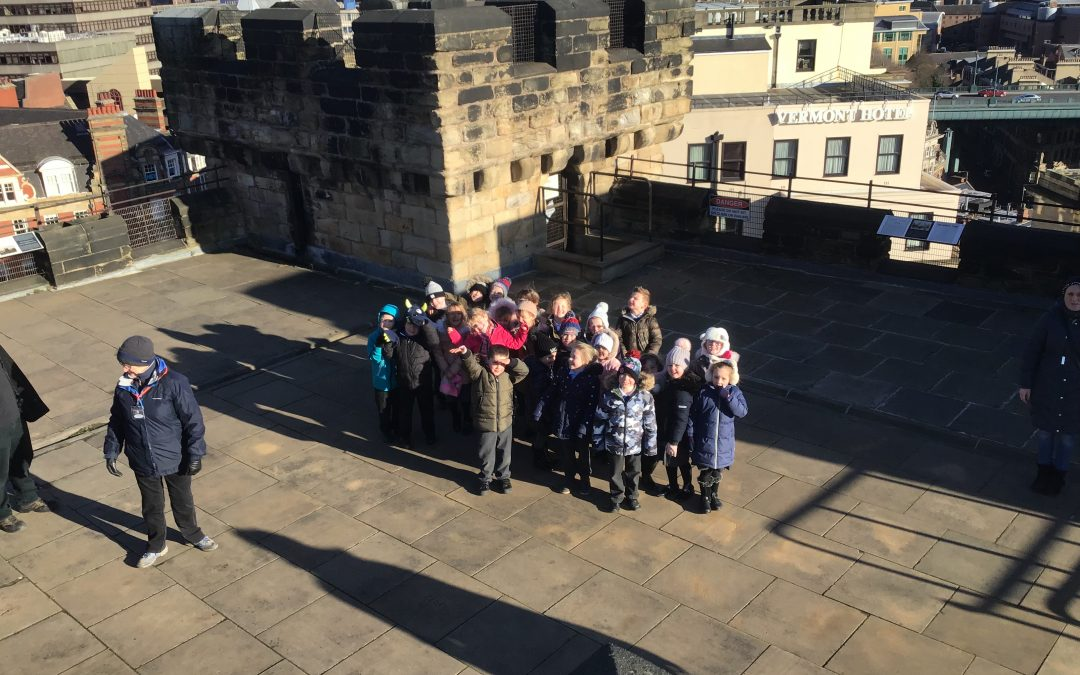 Year 1 visit Newcastle Castle