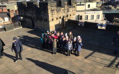Year 1 visit Newcastle Castle